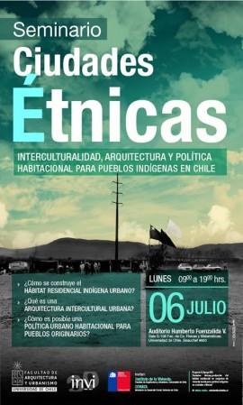 Afiche CIUDADES ETNICAS